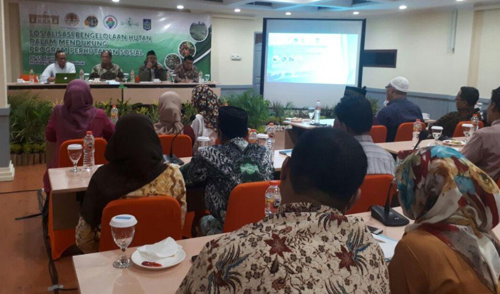 Dukung Reformasi Agraria, LPP PBNU Sosialisasi Pengelolaan Hutan