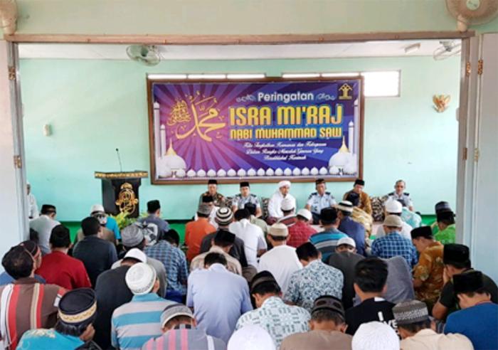 Lapas Bondowoso Gelar Isra' Mi'raj untuk Ingatkan Napi