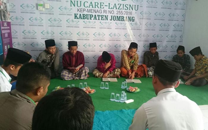 LAZISNU Jombang Rutin Salurkan Beasiswa ke Santri Tahfidz