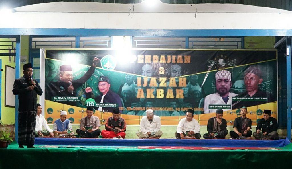 Selenggarakan Ijazah Pendekar, Pagar Nusa Kalteng Solidkan Barisan