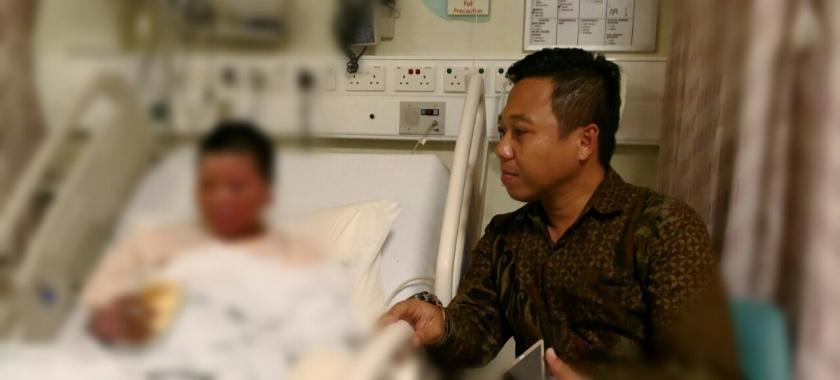 TKI di Singapura Selamatkan Anak Majikan dari Kebakaran Kapal Pesiar