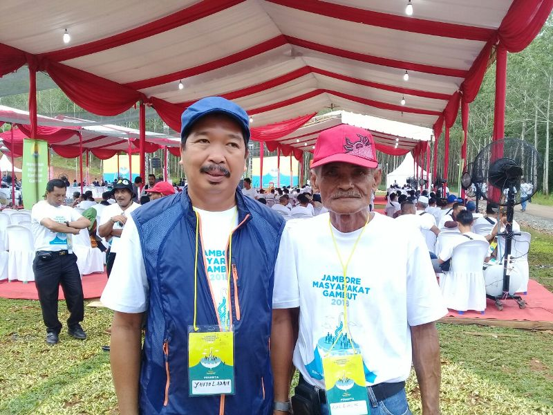 Jaga Lingkungan Gambut, Masyarakat Dilatih Buka Lahan Tanpa Bakar