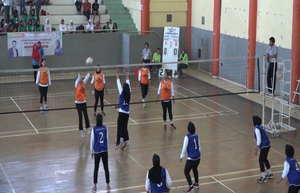 Empat Tim Terbaik Cabang Voli Siap Melaju ke Semifinal
