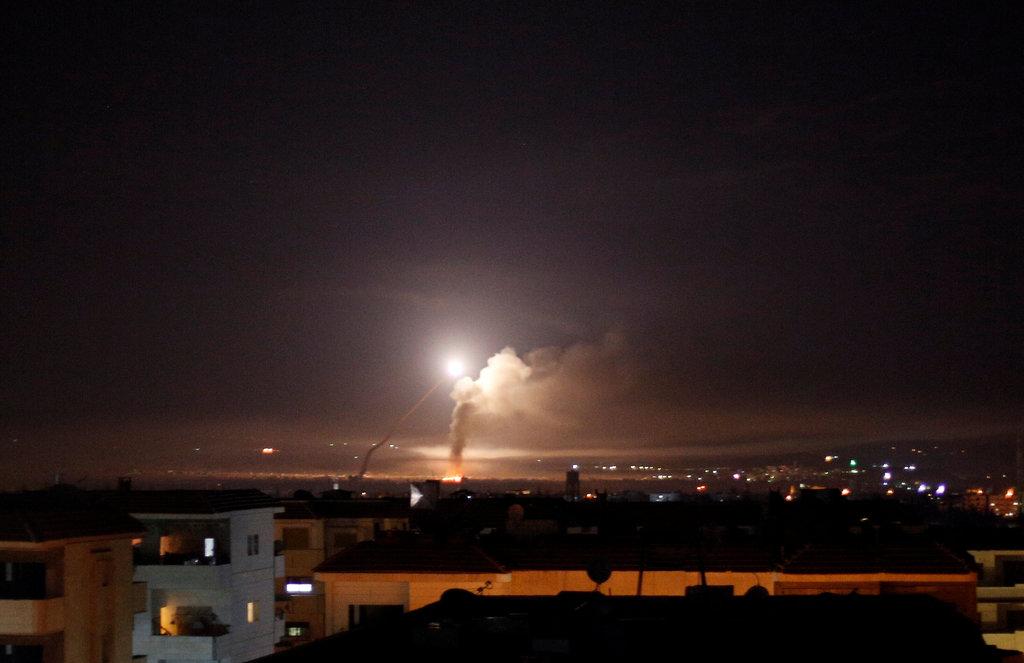 Israel Hancurkan Fasilitas Militer Iran di Suriah