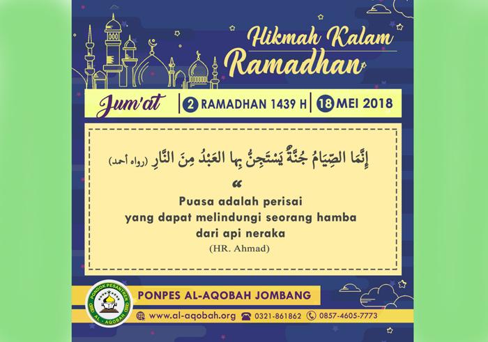 Isi Ramadhan Pesantren Al Aqobah Jombang Sebar Kata Kata