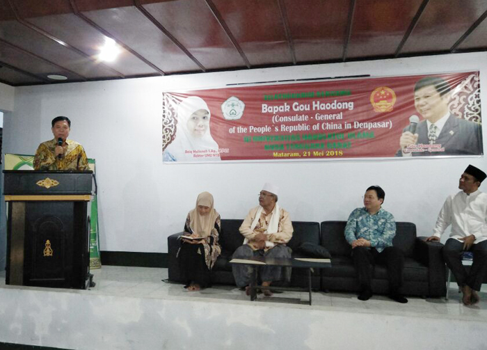 Konsulat Tiongkok untuk Indonesia Jajaki Kerjasama dengan UNU NTB