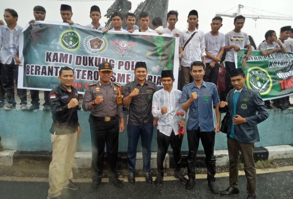 Warga Riau Aksi Damai Dukung Polri Berantas Terorisme dan Radikalisme
