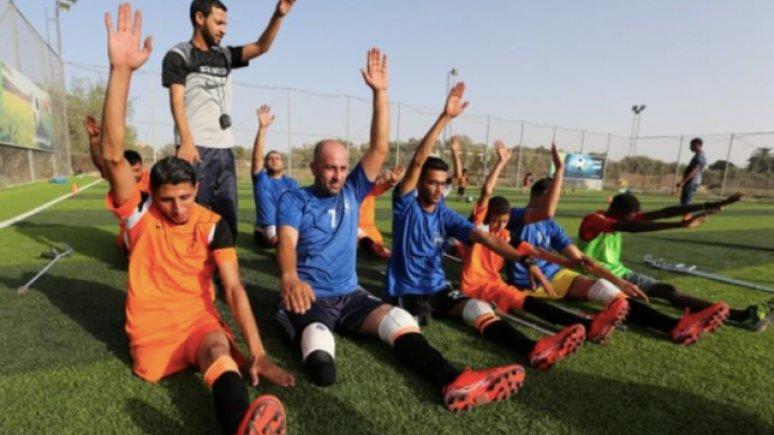 Sepak Bola 'Selamatkan' Warga Palestina Korban Serangan Israel
