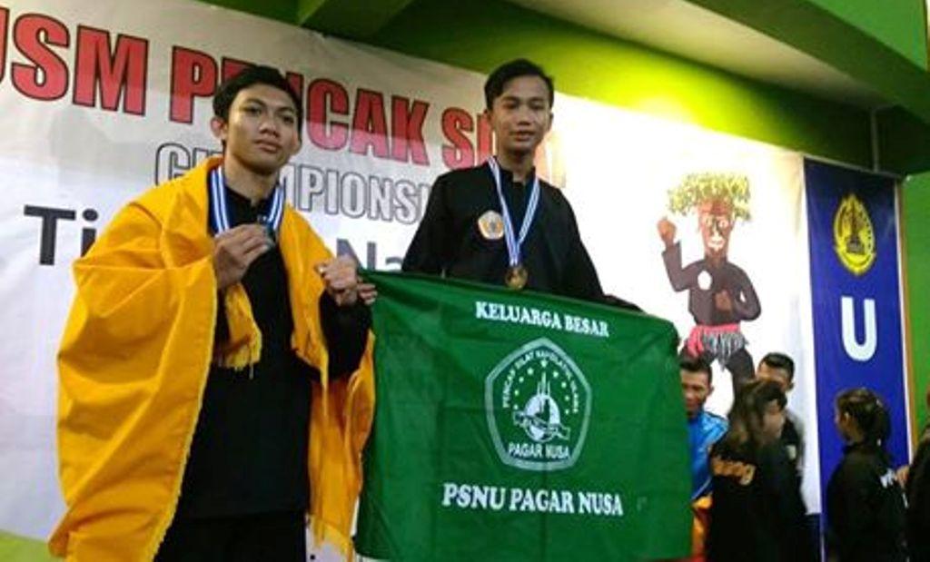 Siswa MA NU Nahdlatul Fata Juara Silat Nasional