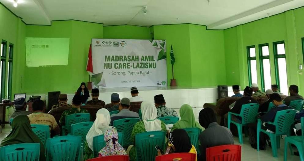 Madrasah Amil LAZISNU Digelar di Sorong