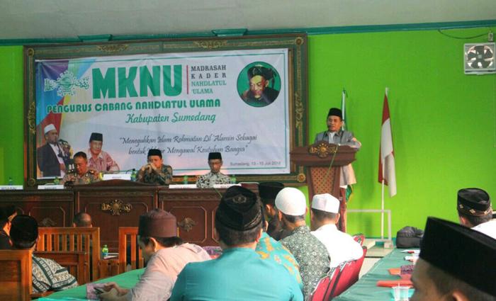 Perkuat Kapasitas Pengurus, PCNU Sumedang Gelar Madrasah Kader