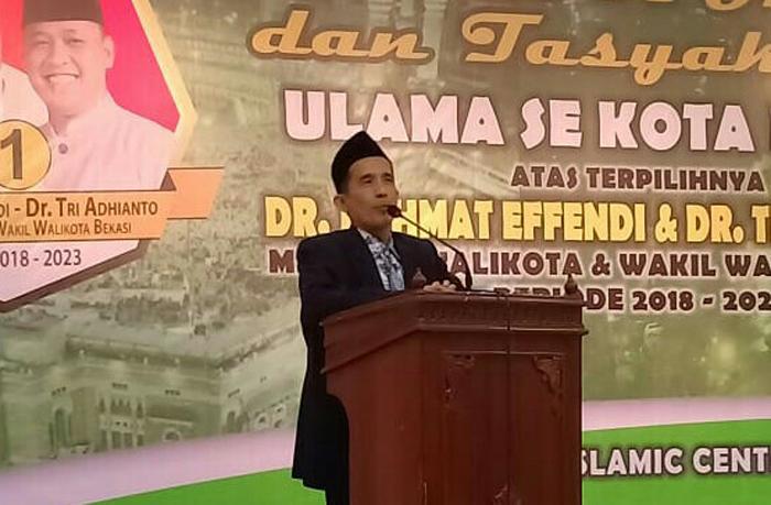 Ketua NU Bekasi Kisahkan Khalifah Umar Abdul Aziz di Depan Walikota Terpilih
