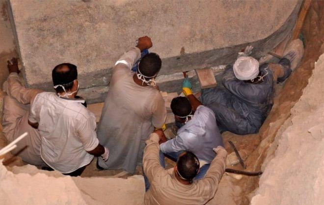 Peti Mati Misterius dari Zaman Fir'aun Ditemukan di Alexandria