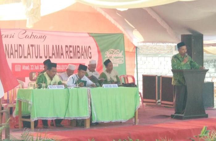 Duet Kiai Ahmad Pimpin NU Rembang