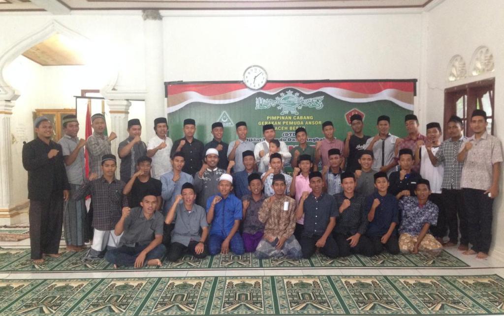 GP Ansor Aceh Besar Gelar Diklat Terpadu Dasar