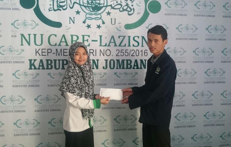 Warga Jombang Percayakan LAZISNU Bantu Korban Gempa Lombok