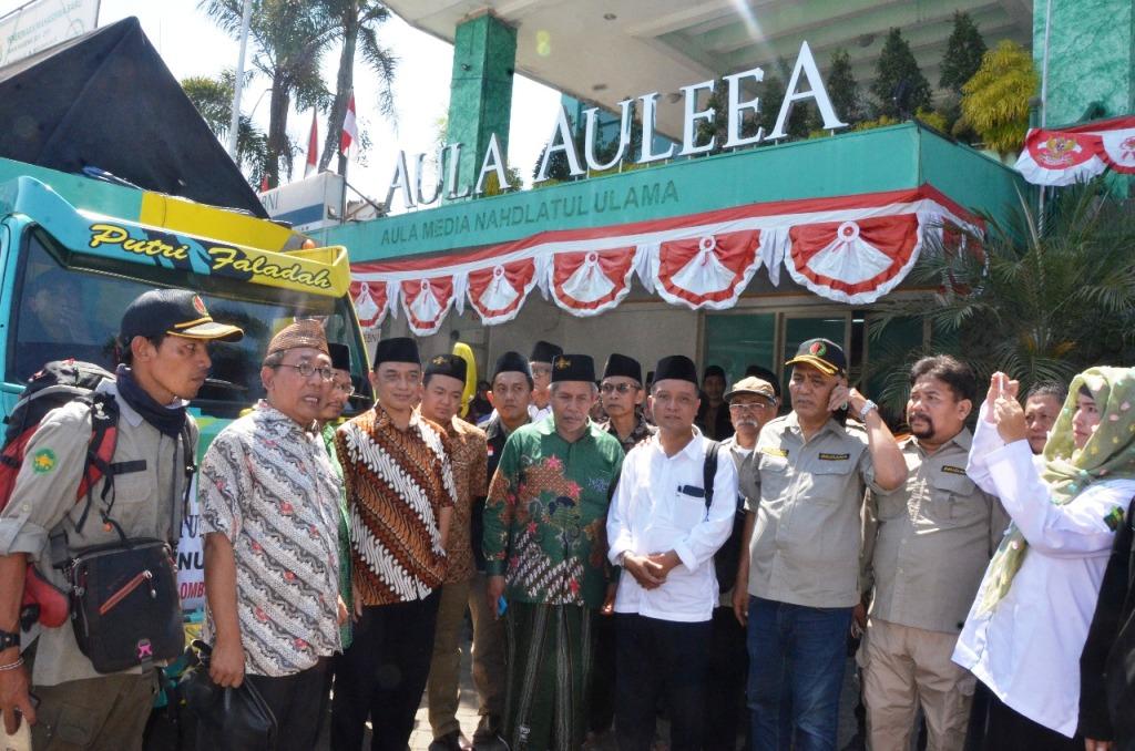 Hari Ini, NU Jatim Kirim Bantuan untuk Korban di Lombok