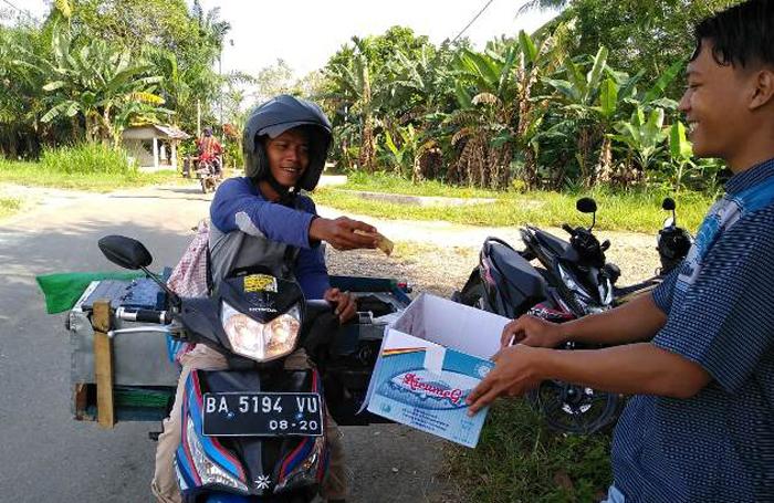 IPNU Dharmasraya Galang Dana Untuk Korban Gempa Lombok