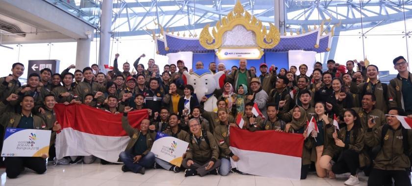 Indonesia Optimis Raih 5 Emas pada ASC XII