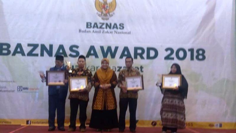 Brebes Terima Baznas Award Kategori Penyalur Terbaik Se-Indonesia