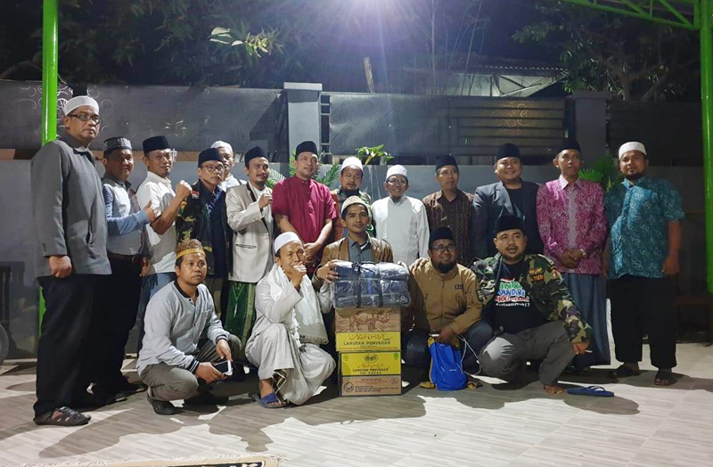 Asparagus dan NU Poncol Salurkan Bantuan untuk Korban Lombok