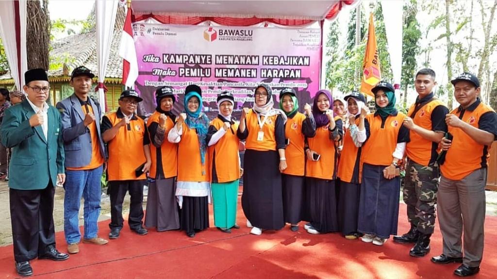 Bersama Banom, NU Magelang Dukung Deklarasi Pemilu Damai
