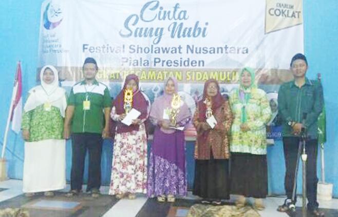 Cinta Sang Nabi, Ansor Sidamulih Gelar Festival Shalawat Nusantara