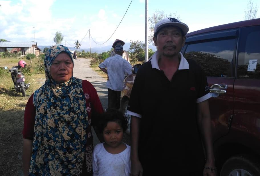 Selama di Sulawesi Giyono Alami Gempa Tiga Kali