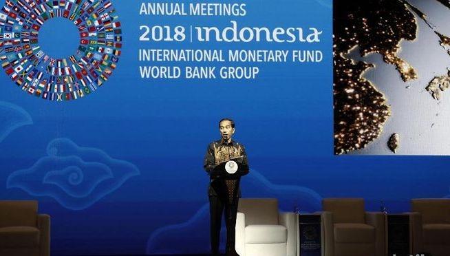 'Game of Thrones' Jokowi di IMF-World Bank dalam Pandangan Pengusaha Nahdliyin