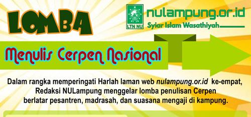 Inilah Juara dan Nominasi Lomba Cerpen LTNNU Lampung