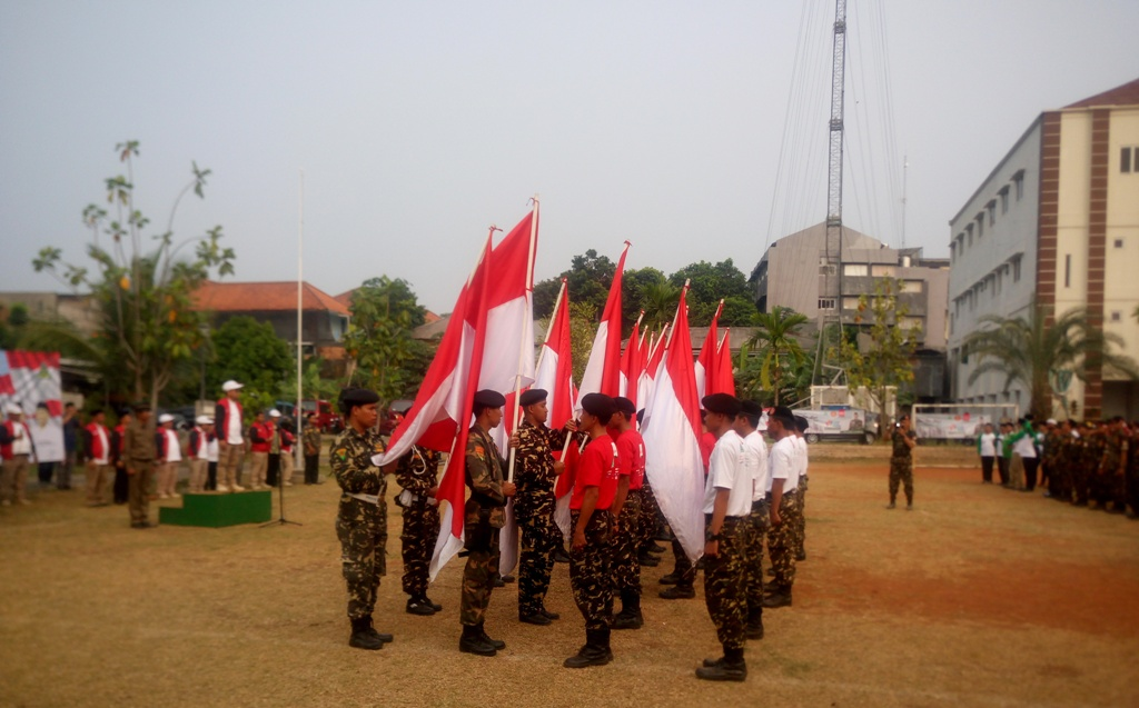 Kirab Satu Negeri GP Ansor Memasuki Jawa Barat