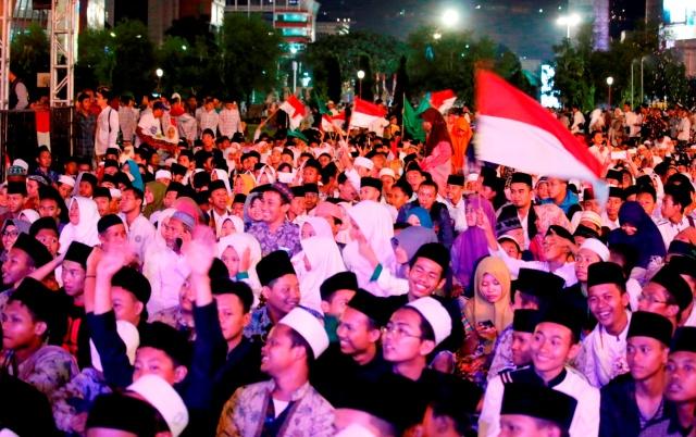 Pelajar SMA Khadijah Surabaya Diingatkan Spirit Hari Santri
