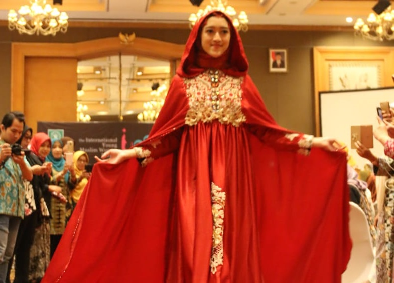 Fatayat NU Tampilkan Produk Busana Muslimah pada IYMWF 2018
