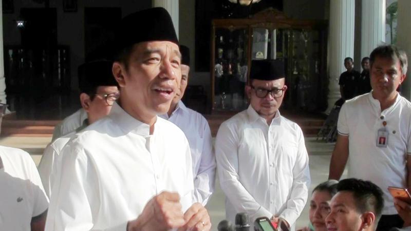 Presiden Jokowi Beri Semangat Timnas U-19 dan Yakin Menang