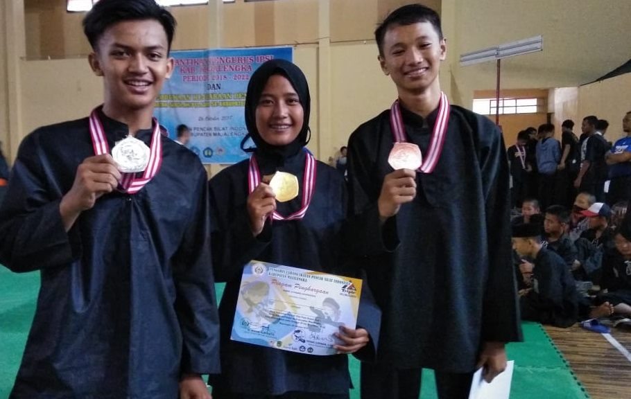 SMA Al-Mizan Jatiwangi Juara Pencak Silat Kabupaten Majalengka