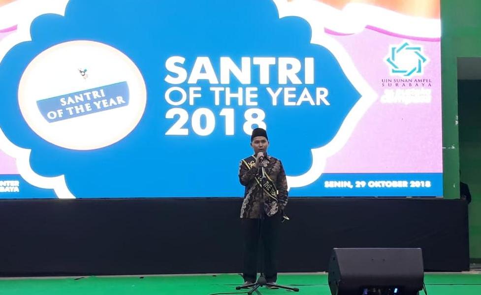 Pesantren Amanatul Ummah Raih Penghargaan Santri of The Year 2018