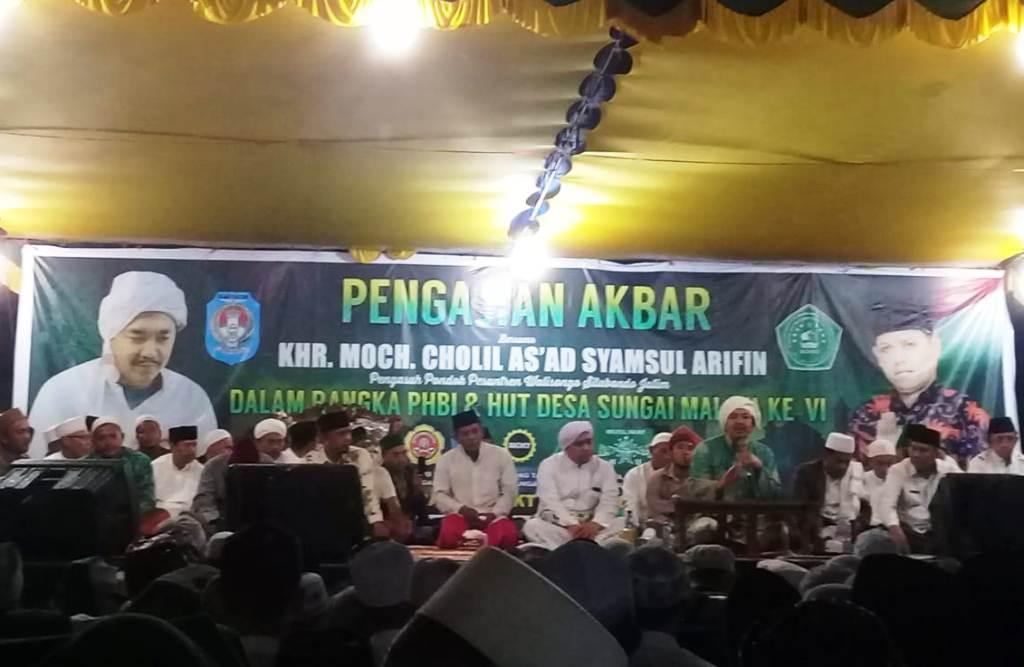KH Cholil As'ad Hadiri Pengajian Akbar di Kubu Raya Kalbar