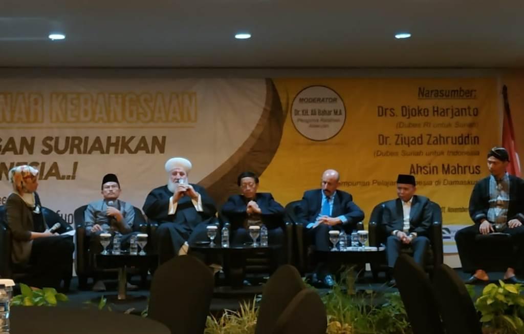 Suriah Berusaha Damai, Sementara Indonesia Belajar Konflik?