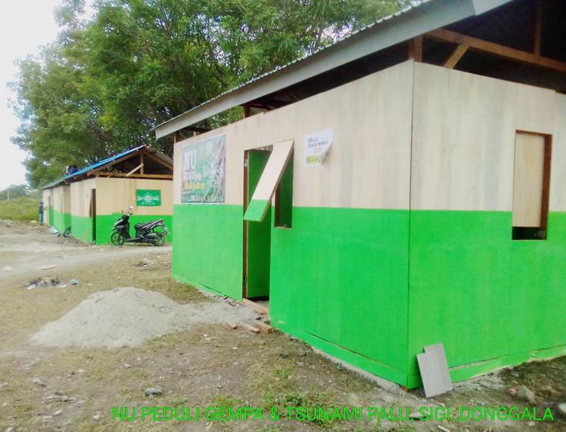 Tim NU Peduli Rampungkan 7 Unit Huntara di Tavanjuka