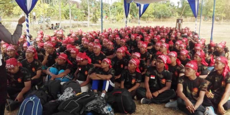 Di Jawa Tengah, Ribuan Pemuda Dibaiat Banser dalam Sepekan