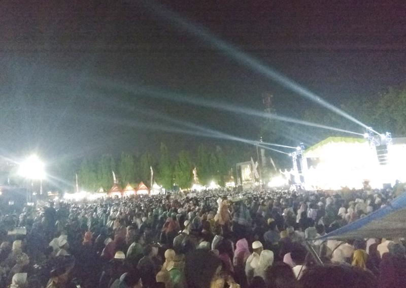 Masyarakat Jombang Kondisikan Pemilu Damai dengan Baca Manaqib