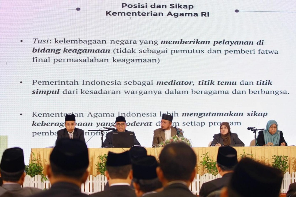 Abdurrahman Mas'ud: Islam Wasathiyah Mampu Bendung Gerakan Keagamaan Menyimpang