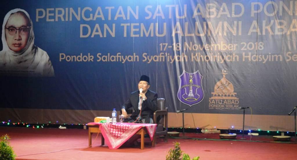 Mudir Madrasatul Qur'an: Kitab Tasrifan Jelaskan Cara Mencari Ilmu