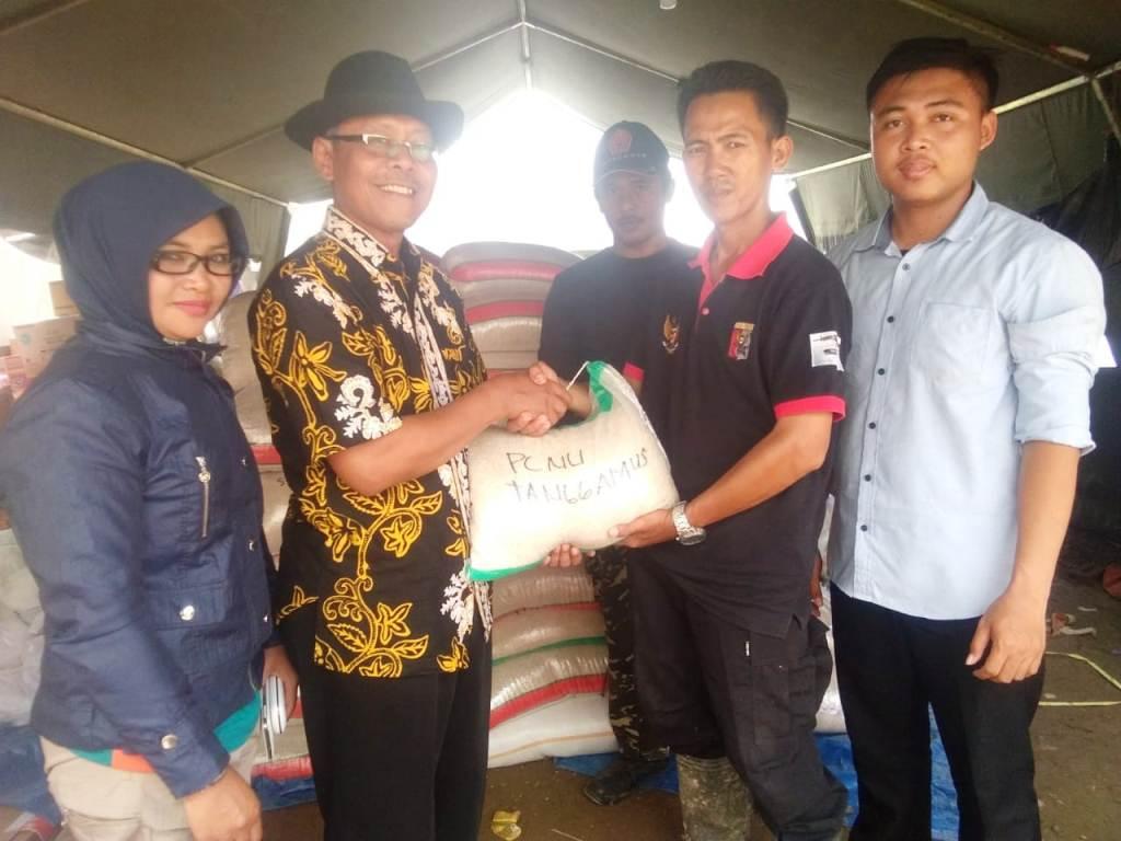 Aksi Peduli NU Tanggamus untuk Korban Banjir di Kelumbayan