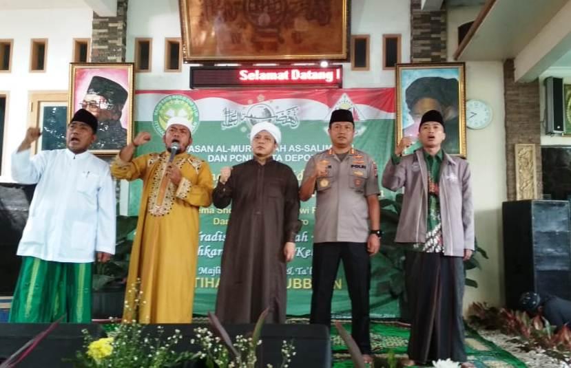 NU Depok Peringati Maulid dan Doakan Indonesia Damai