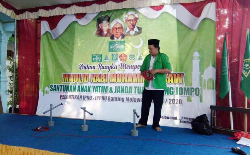 Ansor Jombang Gelar 212 dengan Santuni Yatim dan Janda