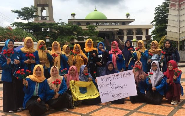 Kopri PMII Banjar Deklarasi Antikekerasan pada Perempuan