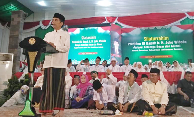Govt committed to supporting pesantren, president says