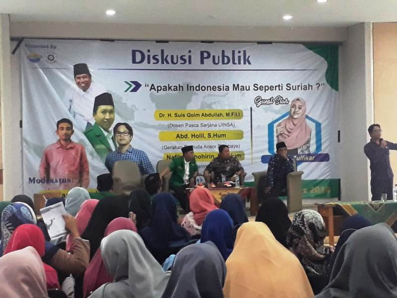 Jangan Suriahkan Indonesia Didengungkan di UINSA Surabaya