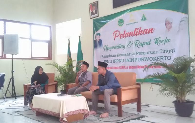 PKPT IPNU-IPPNU untuk Perkuat Dakwah Aswaja di Kampus